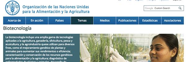 FAO y OMS transgénicos
