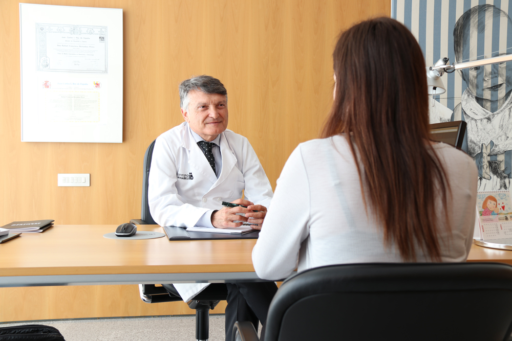 Unità di diagnosi e trattamento del mancato impianto presso l' Instituto Bernabeu