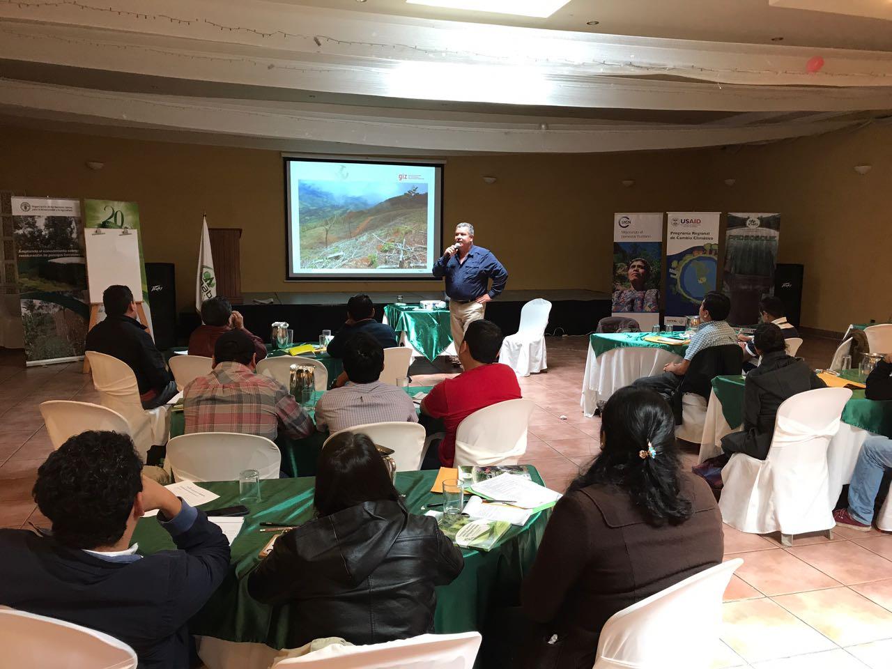 Curso Nacional de Restauración de Paisajes en Guatemala