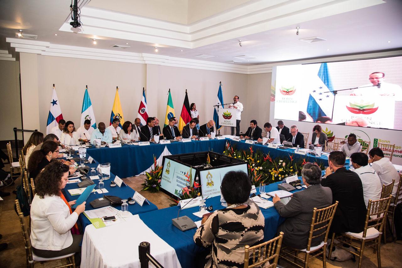 Honduras anfitrión del Bonn Challenge Latinoamérica 2017