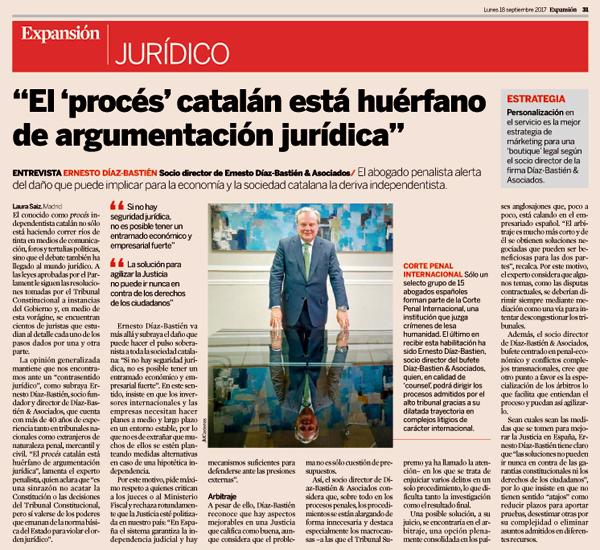 Ernesto Díaz-Bastien en Expansion