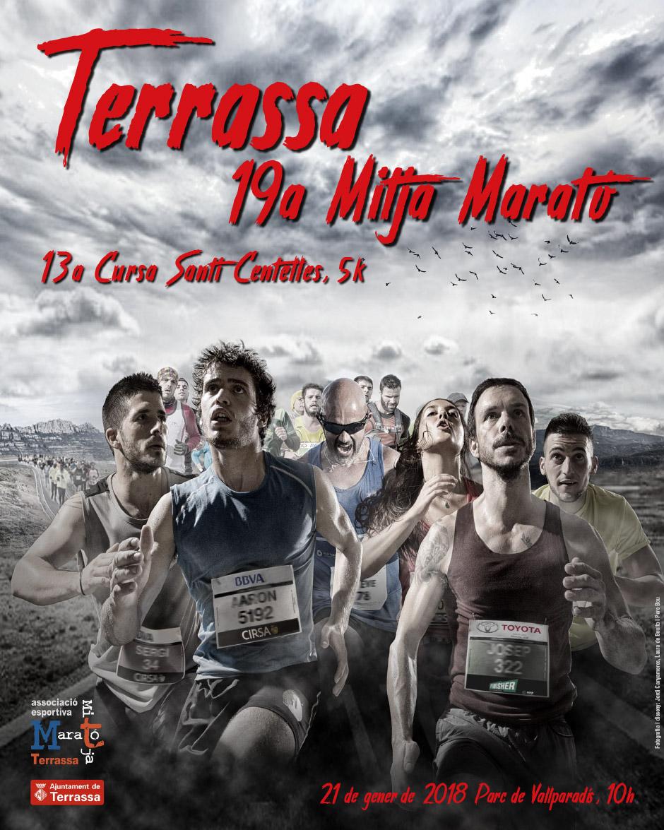 Cartell Mitja Marato Terrassa 2018 mail