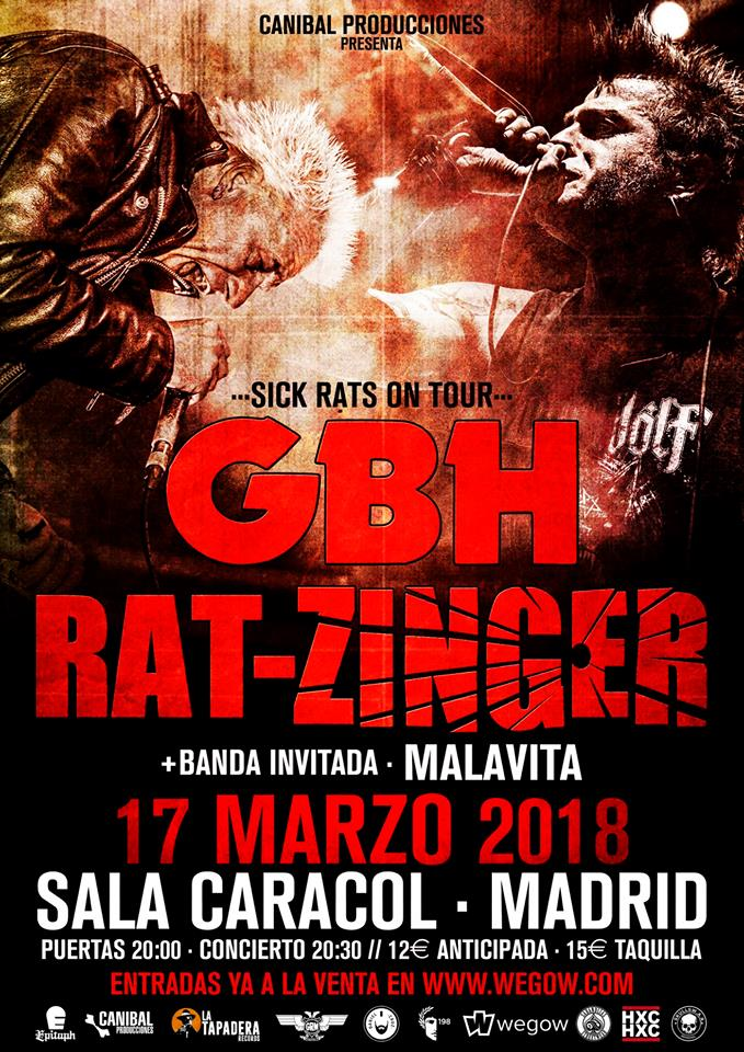 GBH + Rat-Zinger en Madrid
