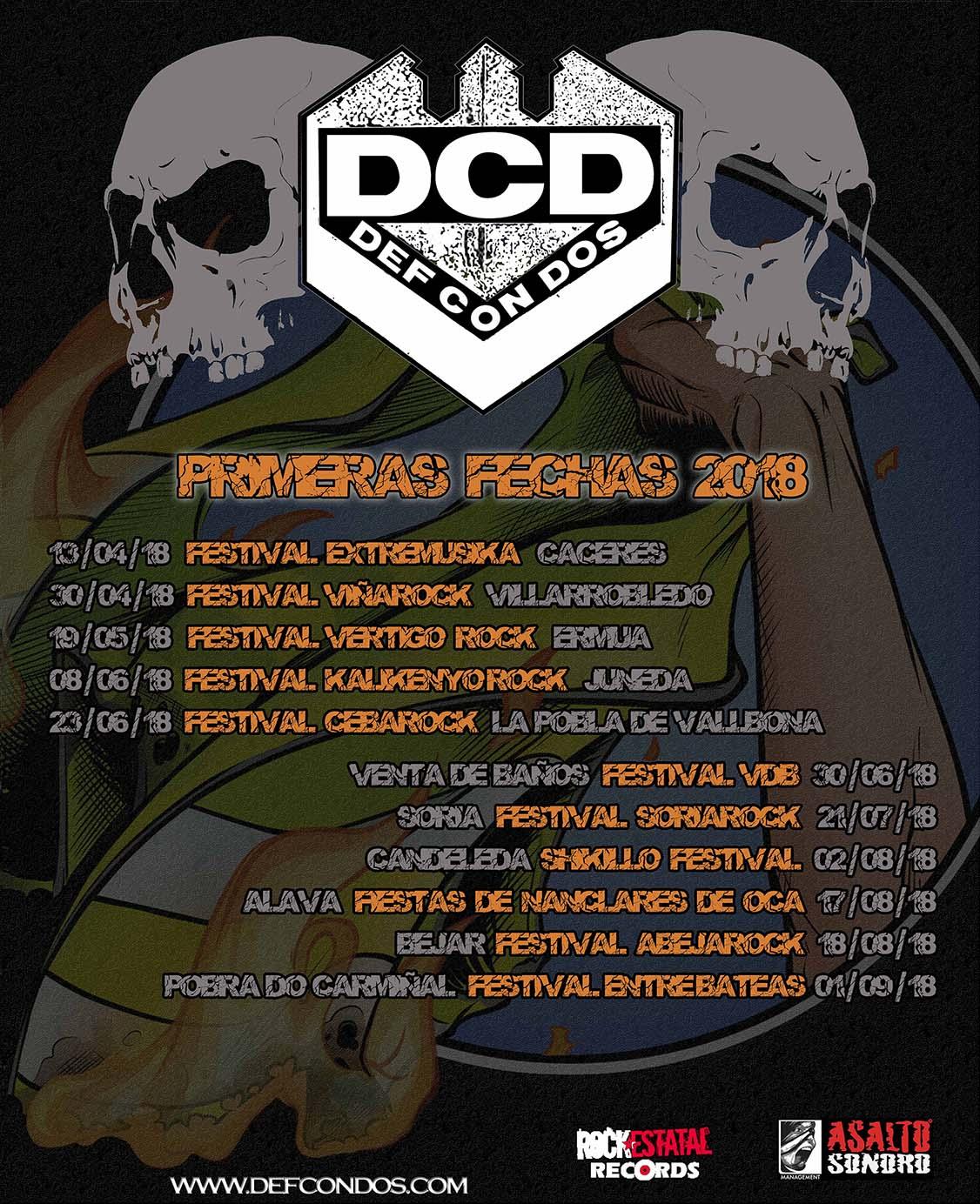 CARTEL DIGITAL DCD PRIMERAS FECHAS GIRA 2018 2