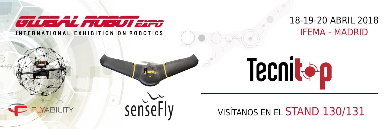 Tecnitop en Global Robot Expo