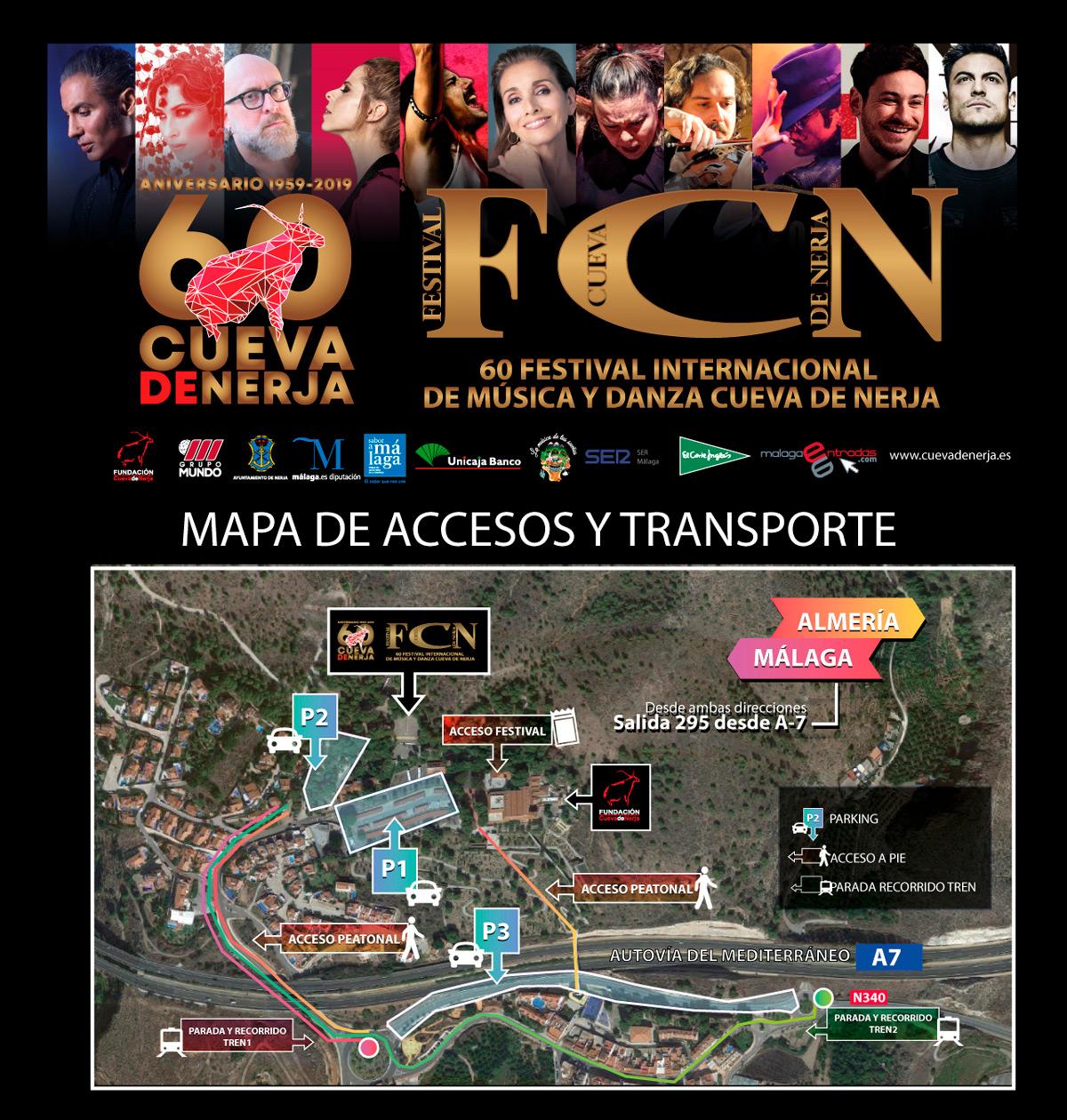 Si vas a asistir al 60 Festival Cueva de Nerja esta información te interesa