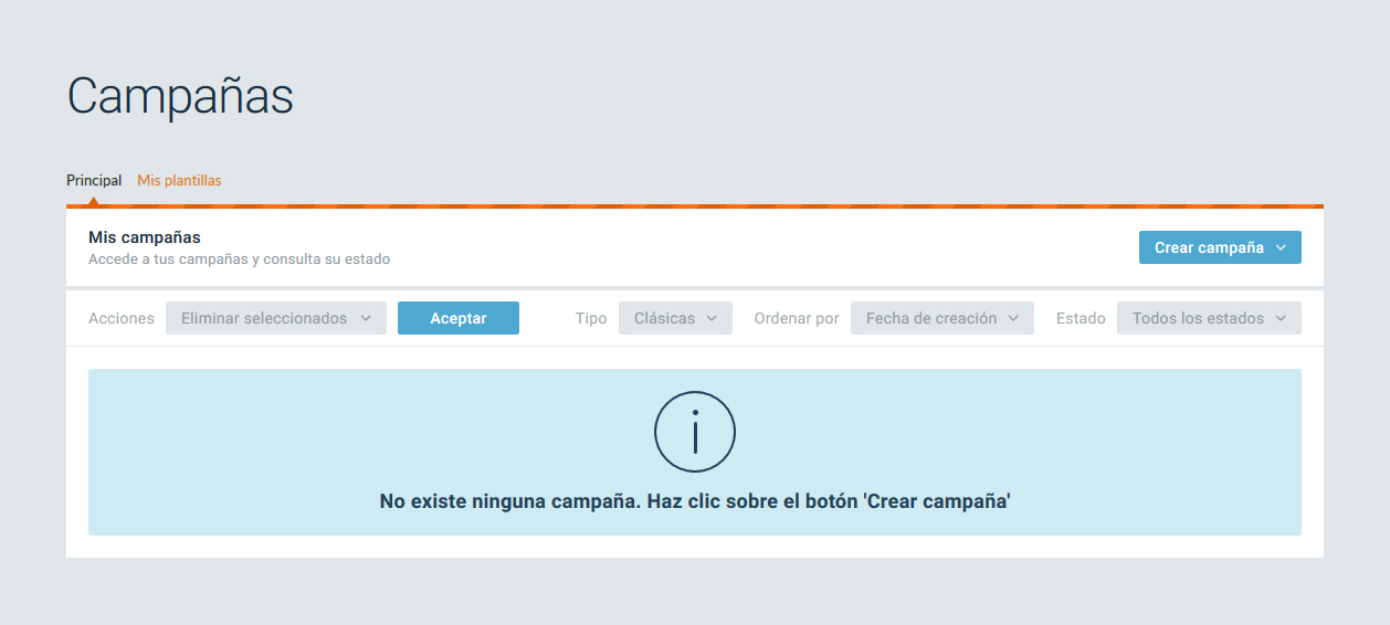 crear campaña email marketing