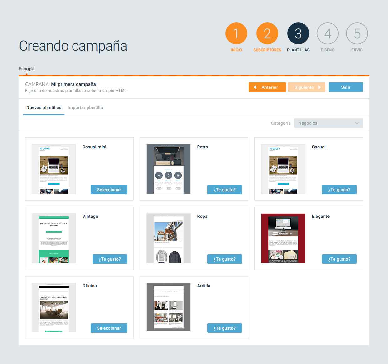 Soporte Acumbamail | Cómo crear y enviar una campaña