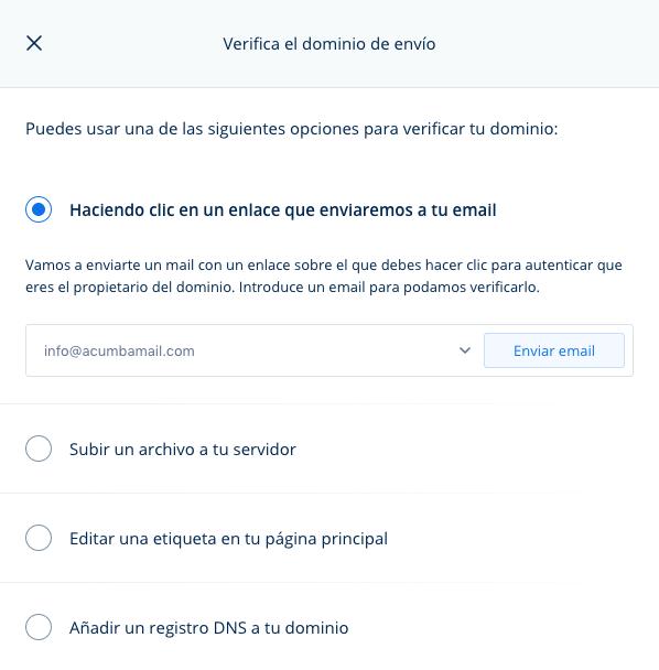 verificar dominio para evitar correo no deseado