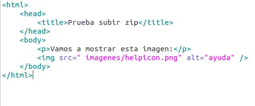 ejemplo basico html